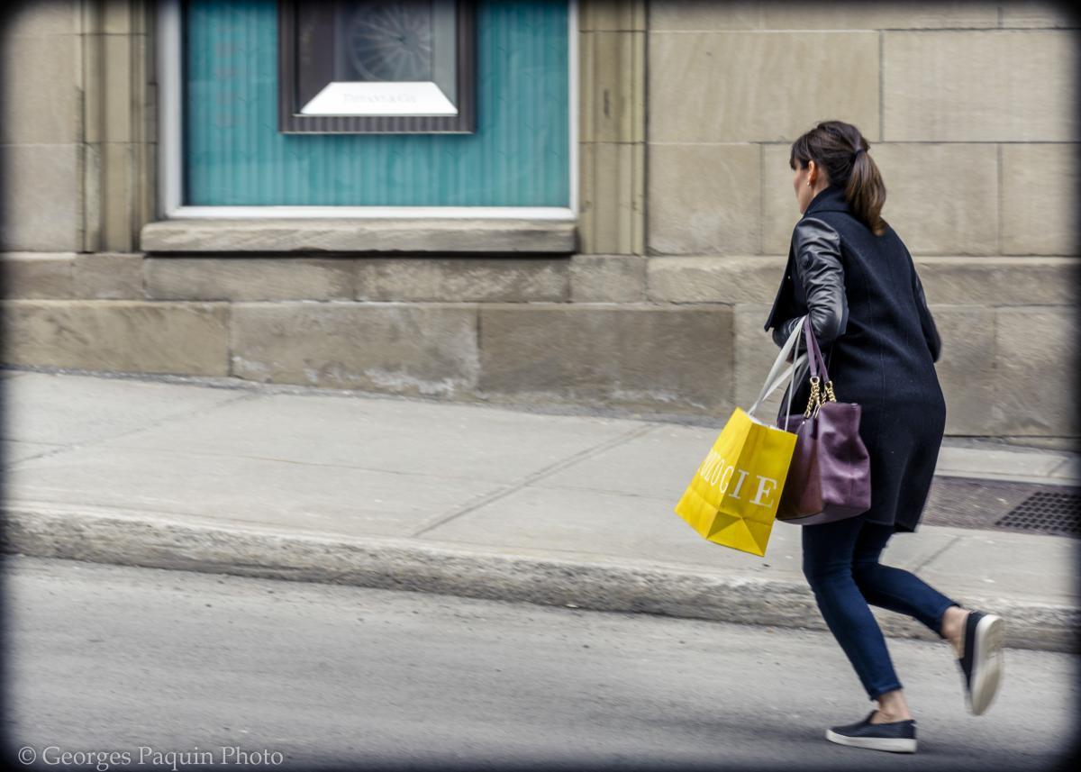 Photo de rue à Montréal
