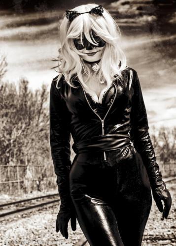 Chat Noir - Modèle: Gabrielle